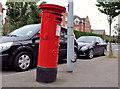 J3470 : Pillar box, Belfast by Albert Bridge