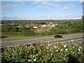 ST5484 : M49 from the A403 overbridge  by Robin Stott