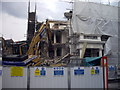 TQ2978 : Demolition in progress in Charlwood Street Pimlico by PAUL FARMER