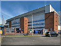 SD6726 : Ewood Park, Blackburn End Stand by David Dixon