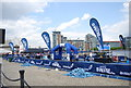 TQ4080 : Start, Great Swim, Royal Victoria Dock by Nigel Chadwick