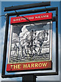TQ6350 : The Harrow sign by Oast House Archive