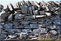 NT1607 : Boundary wall on Smidhope Hill by Jim Barton