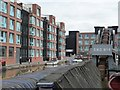 SO8218 : New apartments alongside the Barge Arm by Christine Johnstone