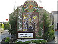 SK2164 : Youlgreave Well Dressing at the Fountain Well by Josie Campbell
