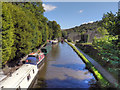 SD9926 : Rochdale Canal, Hebden Bridge by David Dixon