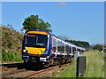 NN6384 : Train leaving Dalwhinnie : Week 30