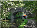 SD9926 : Rochdale Canal, Bridge 15 by David Dixon