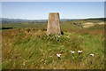 NX6871 : The triangulation pillar on Barend Hill by Walter Baxter