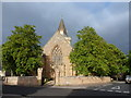 NH7989 : Dornoch: the cathedral from the west by Chris Downer