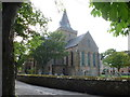 NH7989 : Dornoch: the cathedral from the southeast by Chris Downer