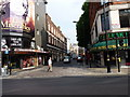 TQ2980 : Wardour Street from Shaftesbury Avenue by Richard Law
