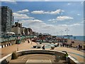 TQ3004 : Looking East from Brighton Bandstand by Paul Gillett