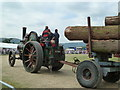 SO8040 : Welland Steam Rally - round timber haulage by Chris Allen