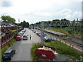 SJ7361 : Car park at Sandbach Station by Alexander P Kapp