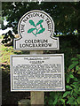 TQ6560 : Coldrum Longbarrow sign by Oast House Archive