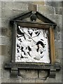 NZ8910 : Bagdale Hall - Venetian wall sculpture by Mike Kirby