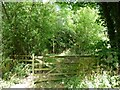 SE2814 : Entrance to Brickyard Plantation Nature Reserve by Christine Johnstone