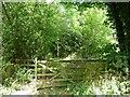 SE2814 : Entrance to Brickyard Plantation Nature Reserve by Christine Johnstone