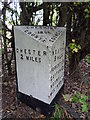 SJ3969 : Mile Stone by J Scott