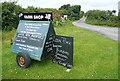 SW4934 : Farm shop at Higher Trenowin Farm by Graham Horn