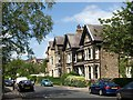 SE3054 : Houses on South Park Road, Harrogate by Derek Harper