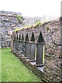NR3488 : Cloisters at Oronsay Priory by Gordon Hatton