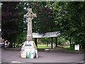 NX6851 : The Selkirk Memorial Cross, Kirkcudbright by Rose and Trev Clough