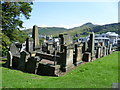 NT2674 : Gravestones in the New Calton Burying Ground by kim traynor