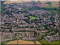 TL4714 : Sawbridgeworth from the air by Thomas Nugent