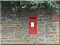 SP7471 : Church End postbox, ref NN6 76 by Alan Murray-Rust