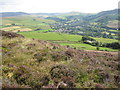 SK0287 : View over Hayfield from Lantern Pike by Peter Turner