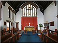 TQ2077 : St Michael, Elmwood Road, Sutton Court - Chancel by John Salmon