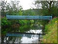 NS7997 : Bridge of Allan, Allanvale Road footbridge by Robert Murray
