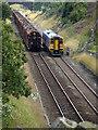 SD7681 : Trains passing at Blea Moor : Week 32