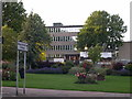TL8464 : West Suffolk College from across the street by John Goldsmith