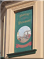 TQ8210 : Mount Pleasant sign by Oast House Archive