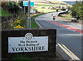 SD9608 : Back in Yorkshire by michael ely