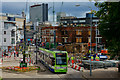 TQ3165 : Croydon Riots - trams back running by Peter Trimming