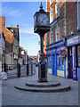 SJ5441 : Whitchurch Clock by David Dixon