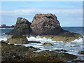 NT9167 : Rocks at St. Abbs by kim traynor