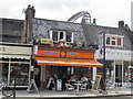 TQ2484 : Italian Cafe, Exeter Road, NW2 by Mike Quinn