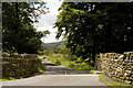 SD7450 : Entrance lane to Harrop Lodge by Tom Richardson