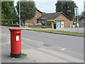 SK6149 : Calverton Post Office postbox (ref. NG14 350) by Alan Murray-Rust
