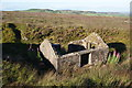 SE0413 : Abandoned hut on Reaps Hill by Bill Boaden