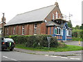 TQ5521 : Methodist Chapel under repair by Dave Spicer