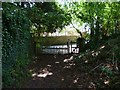 TQ2612 : Footpath gate at Poynings by Shazz