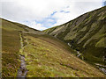 NN8377 : Path on Beinn Losgarnaich by William Starkey