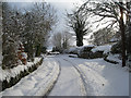 Dist:0.3km<br/>November 2010 brought an unexpected heavy snowfall to Horndean village in the Scottish Borders. A week later, early December a further fall closed the C96 road for a week
