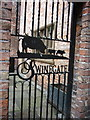 SE6052 : A gate down Swinegate, York by Ian S